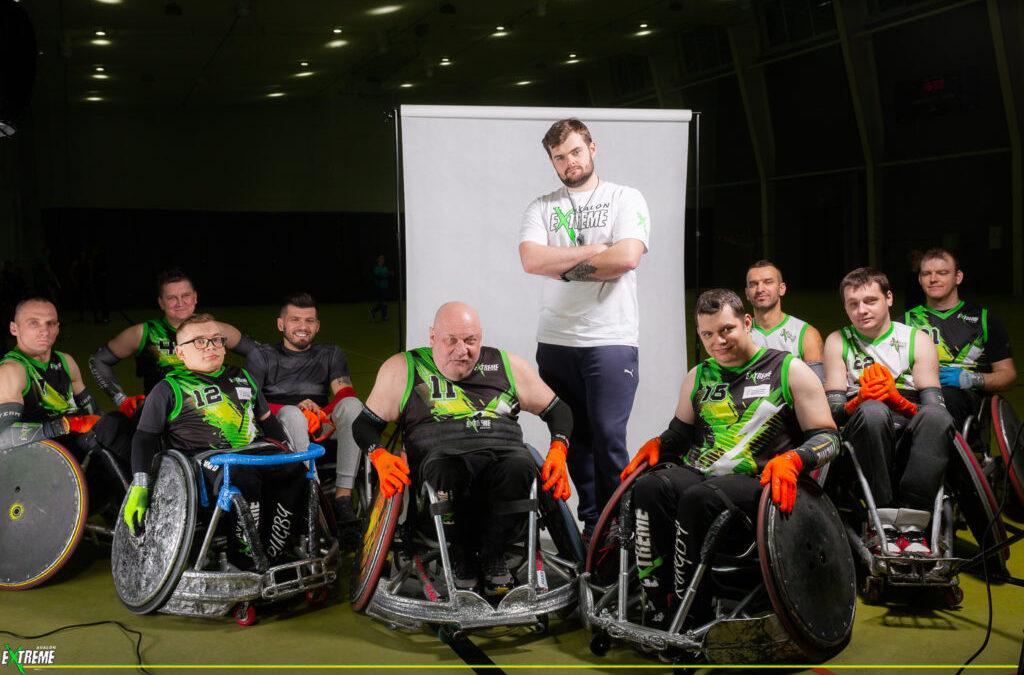 Drużyna Rugby na Wózkach Avalon EXTREME.