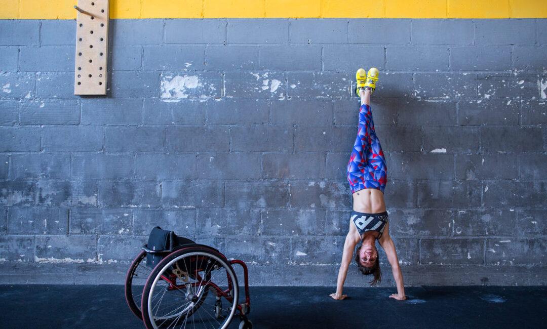 Trening crossfit dla osób z niepełnosprawnościami w Fundacji Avalon